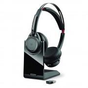 Casti Bluetooth Wireless Plantronics Voyager Focus UC BT B825 Negru
