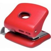Perforator plastic RAPID FC20 20 coli - rosu