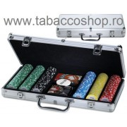 Set de poker in valiza aluminiu Juego Pro Team 300