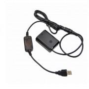 AC adapter USB AC-FZ100 coupler DR-FZ100 NP-FZ100 replace Sony