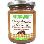 Vitaquell KREM CZEKOLADOWY Z ORZECHAMI MACADAMIA VEGAN BIO 250 g - VITAQUELL