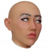 XDRESSER Frauen Silikon Maske Veronika