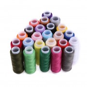 Sytråd i Blandade Färger 24 Rullar x 182m per Rulle