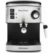 Espressor Manual Rohnson R980 20bari 850W 1.6L Filtru Dublu Sistem ERP Inox