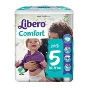 Fraldas comfort 10-14kg, 24 unidades - Libero
