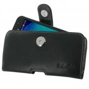 Capa de Couro PDair Horizontal para Samsung Galaxy Xcover 4 - Preto