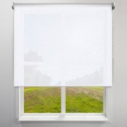 Victoria-M Roleta materiałowa, Biała, 100 x 175 cm, Wolnowisząca, Przyciemniająca