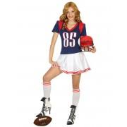 Vegaoo Amerikansk fotbollsspelare - Dräkt för damer