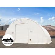 Hangár 12,2x21m 6,1m magas / 720g/m2 PVC / Tűzálló / 3m szerkezeti távolság ()