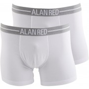 Alan Red Boxershorts Weiß 2er-Pack - Weiß M