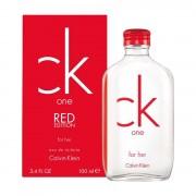 Calvin klein ck one red edition for her 50ml eau de toilette edt profumo donna