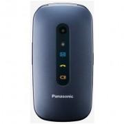 "Panasonic Kx-Tu456exce Telefono Cellulare Display Lcd 2,4"" Bluetooth Colore Blu"