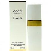 Chanel Coco Mademoiselle Eau de Toilette para mulheres 50 ml recarregável
