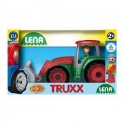Lena Játék traktor, homlokrakodóval dobozban
