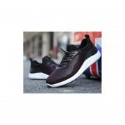 Zapatos de hombre nuevos coreanos rojo