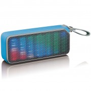 Lenco Bluetooth Stereo Speaker Disco Light BT-191 Blue