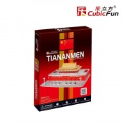 Puzzle 3D Monumentul Tian An Men Beijing, 61 piese