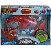 Marvel Spiderman Water Gun with Inflatable Color Changing Target