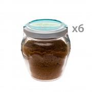 Sarda Affumicati 6 vasetti - Bottarga di tonno pinna gialla Macinata 70 gr.