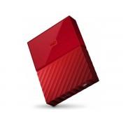 """WD My Passport 2,5"""" 1TB czerwony WDBYNN0010BRD"""