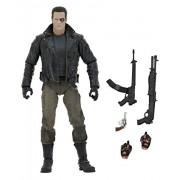 NECA Terminator Ultimate Police Station Assault T-800 7' Scale Action Figure