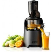 Kuvings PROFESSIONAL EVO820 Slow Juicer Black Leather Finish 240 W Juicer(Black Leather Finish, 3 Jars)