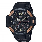Casio G-SHOCK Standard Analog-Digital Montre GA-1100RG-1A - Noir