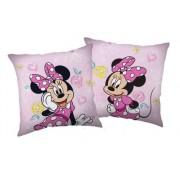 Minnie egér rózsaszínű párna
