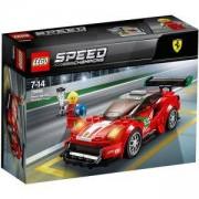 Конструктор ЛЕГО СПИЙД ШАМПИОНИ - Ferrari 488 GT3, LEGO Speed Champions, 75886