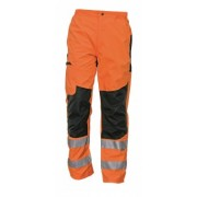 "Pantaloni Ticino ""Hi-Vis"", fara izolatie termica, fara captuseala"