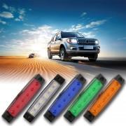 EY 12V 6 LED Remolque De Camión Liquidación De Marcador Lateral Sumergible Luz De La Anchura De La Lámpara