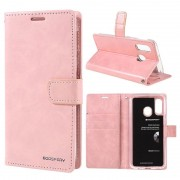 Mercury Goospery Blue Moon Samsung Galaxy A40 Wallet Case - Pink
