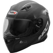 Shiro SH-881 Motorcycle Helmet Black Carbon S