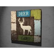Tablou CANVAS Deer Camp