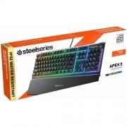 Клавиатура Steel Series Apex 3 RGB Wired USB (UK64810)