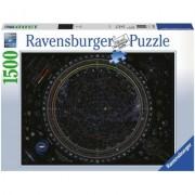 Puzzle Harta Universului, 1500 Piese Ravensburger