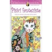 Pachet Pisici fanteziste. Carte de colorat și relaxare pentru adulți + Relaxare pentru începătoare
