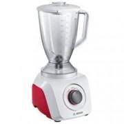 Блендер Bosch MMB21P0R, 2 степени, импулс функция, 900W, бял