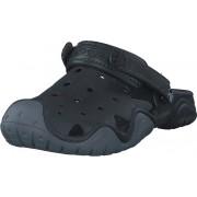 Crocs Swiftwater Clog M Black/charcoal, Skor, Sandaler och Tofflor, Foppatofflor, Svart, Herr, 39