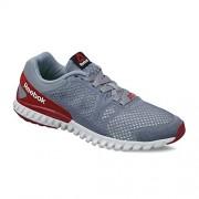 Reebok Men's Twistform Blaze 2.0 Mtm Dust, Merlot, Red and Stone Running Shoes - 9 UK/India (43 EU)(10 US)