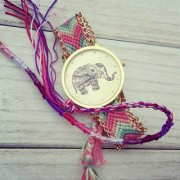 New Fashion Women Braided Rope Bracelet Wristwatch Relogio Feminino Bohemian Style Quartz Watch Dress Watches