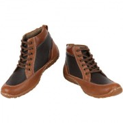 Yellow Tree Good High Quality Tan Color Designer Boot Shoes For Mens Boys ( 42222 )
