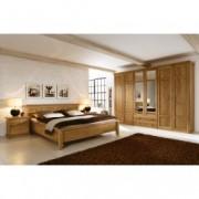 Set Mobila Dormitor din lemn masiv si furnir Piano