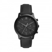 Relógio Fossil Neutra Chrono Preto Masculino FS5503/0PN