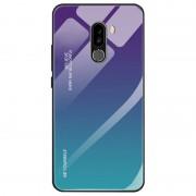 Powerbasics Xiaomi Pocophone F1 Premium Protection Iridiscent Blue Capa