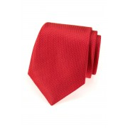 Jasně červená kravata se vzorem Avantgard 559-491