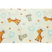 Lenjerie de pat pentru copii Happy Animals 100 x 135