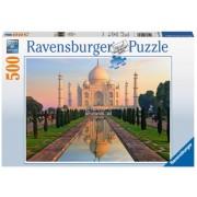 Puzzle Taj Mahal, 500 Piese Ravensburger