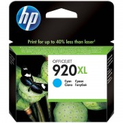 HP Original Tintenpatrone CD972AE (No.920XL) cyan XL