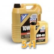 Liqui Moliy Leichtlauf 10W-40 motorolaj 5+1 Liter